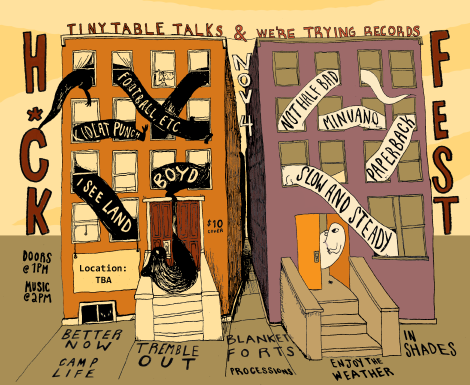 H*ck Fest: Presented by We're Trying Records & Tiny Table Talks